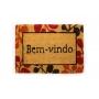 Capacho Bem-Vindo Colorido 40x60cm - Casambiente