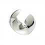Porta guardanapo de tecido 4 anéis Alliance Prata  - Lyor