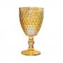 Conjunto de 6 Taças Âmbar Furta-Cor Bico de Abacaxi 300 ml - Casambiente