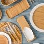 Faqueiro Inox 24 peças Bambu - Lyor