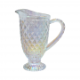 Jarra Bico de Abacaxi Transparente Furta-Cor 1 Litro - Casambiente