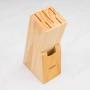 Jogo de Facas com Cepo Inox Cross 7 peças - Brinox