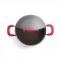 Jogo de Panelas Brinox Ceramic Life Smart Plus Vermelho 6 peças