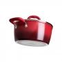Jogo de Panelas Brinox Ceramic Life Smart Plus Vermelho 8 peças