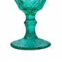 Jogo de Taças de Vidro Verde Royal 350ml - Casambiente