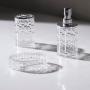 Jogo para Banheiro Lavabo 3 peças Nouveau Transparente - Haus Concept