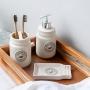 Jogo para Banheiro Lavabo 3 peças Pottery - Haus Concept