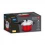 Panela de Pressão Brinox 4,2L Pressure Vermelho
