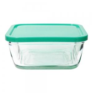 Potes Herméticos de Vidro Verde Água 3 peças - Casambiente