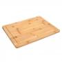 Tábua de Corte em Bambu Natural 40,1x29,8cm - Haus Concept