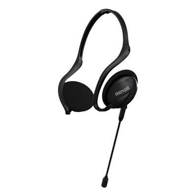Fones de ouvido com microfone removível Neckband