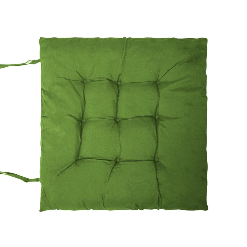 Almofada Futon Lisa Verde 40x40cm - Casambiente