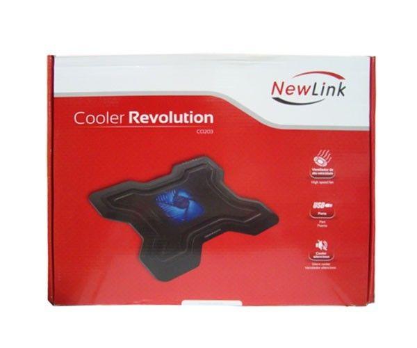 Base para Notebook  Newlink Cooler Revolution CO203