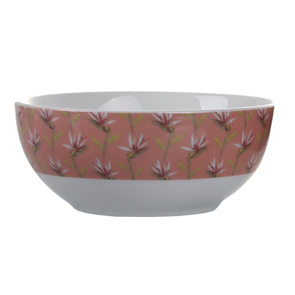 Bowl de Porcelana Paraiso Salmão BOWL051 - Casambiente