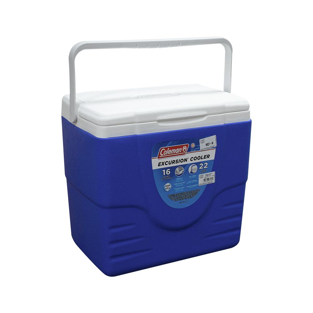 Caixa Térmica Cooler Azul 15,1L - Coleman