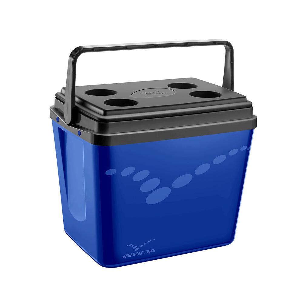 Caixa Térmica Cooler Pop Azul 34L - Invicta