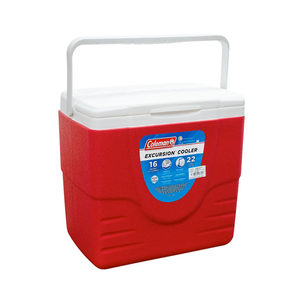 Caixa Térmica Cooler Vermelho 15,1L - Coleman