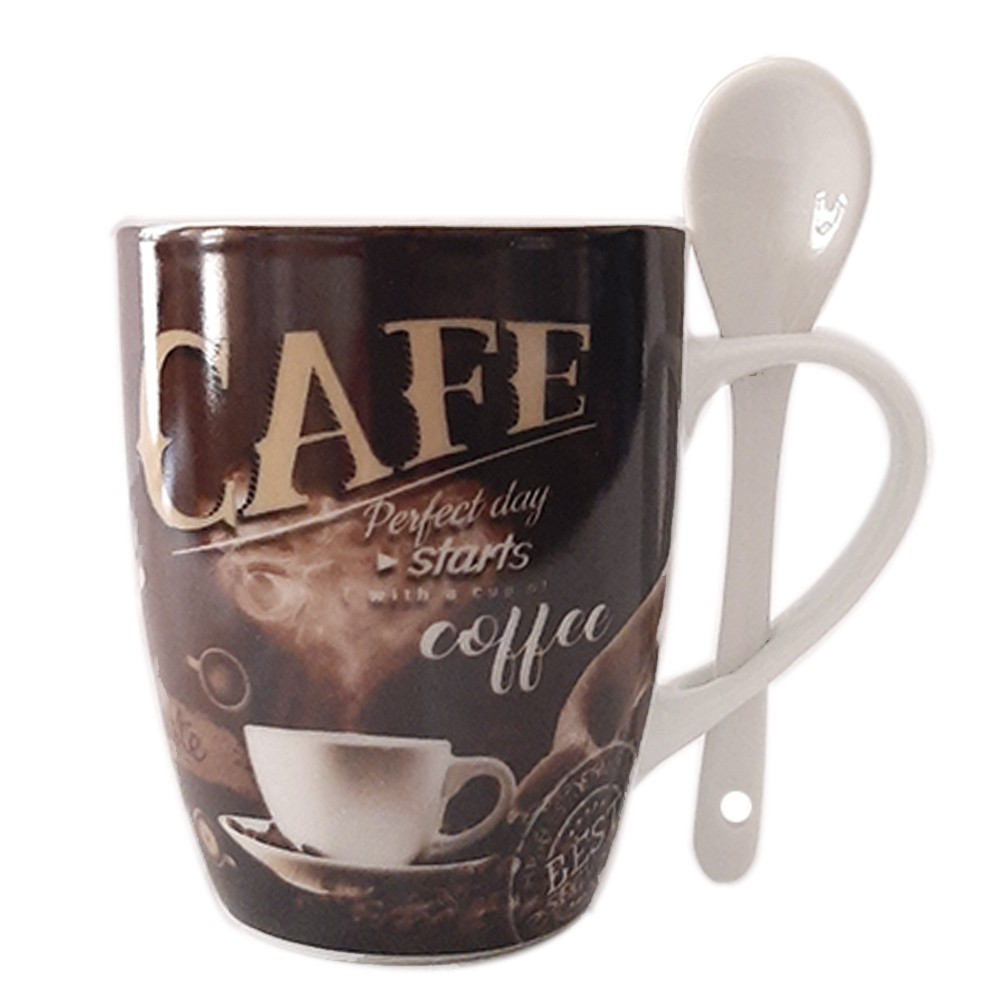 Caneca de Porcelana 340ml Starts Coffee - Casambiente