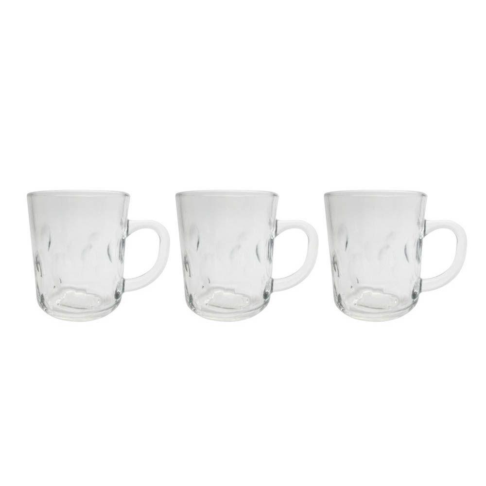 Canecas para Café ou chá 3 Peças 230ml - XIVI008
