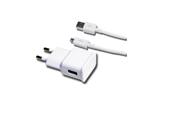 CARREGADOR MICRO USB + CABO DE DADOS