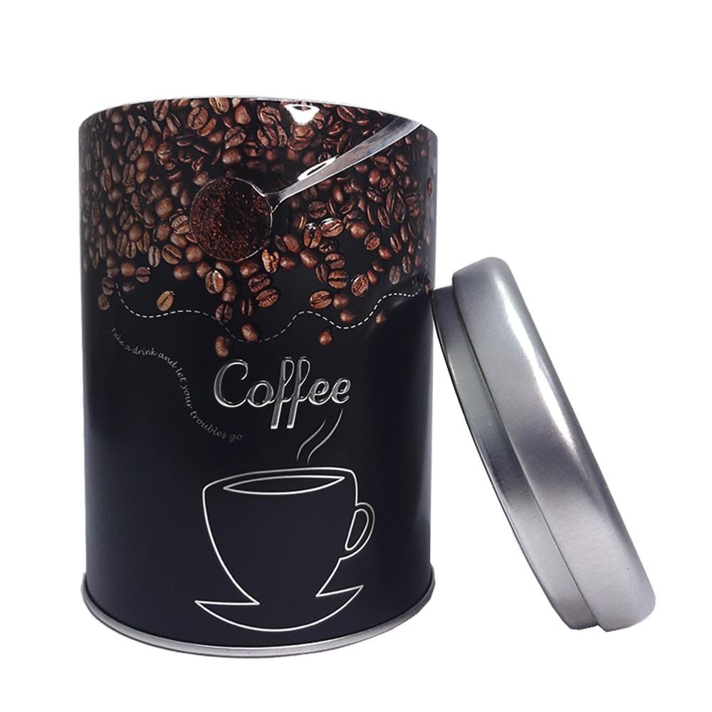 Conjunto 2 Latas Porta Café e Açúcar - Casambiente