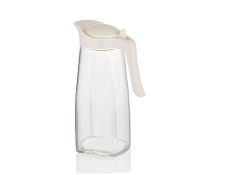 Conjunto Jarras De Vidro Para Suco Água Com Tampa 1,5L B230 Casambiente