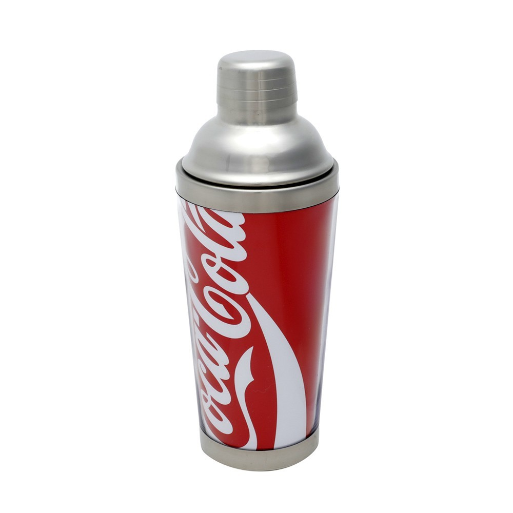 Coqueteleira em Inox 500ml- Coca-Cola