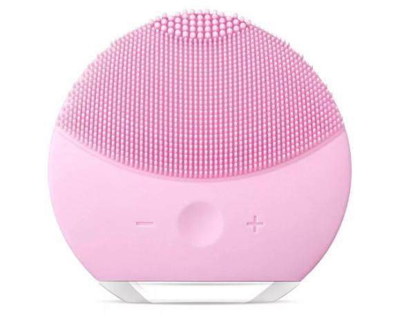 Esponja Massageadora Elétrica Facial Limpeza Rosa Claro