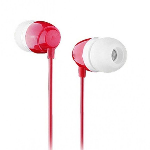 Fone de Ouvido Auricular Earphone Gbmax BN-960 Vermelho