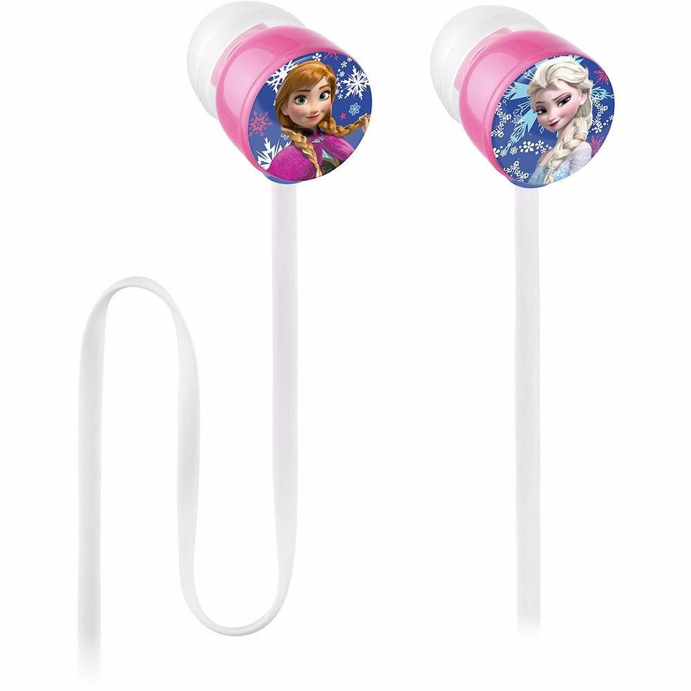 Fone de Ouvido Multilaser Frozen Flat Princess PH128 Intra-Auricular