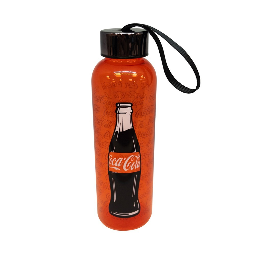 Garrafa squeeze plástica Coca-Cola 500Ml
