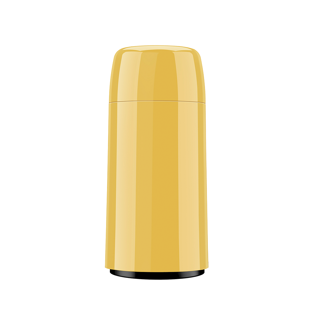 Garrafa Térmica Amarela 250mL Firenze Mini - Invicta
