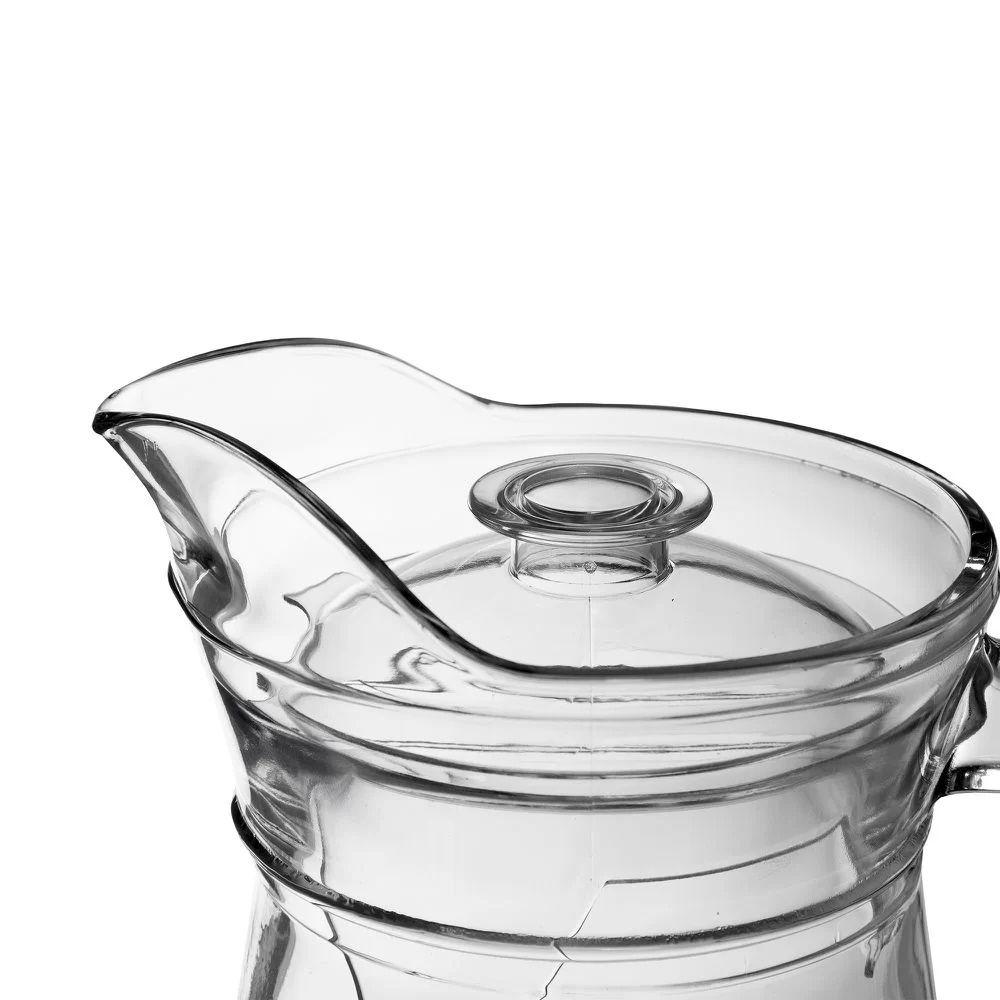 Jarra de vidro com tampa - JAVI002