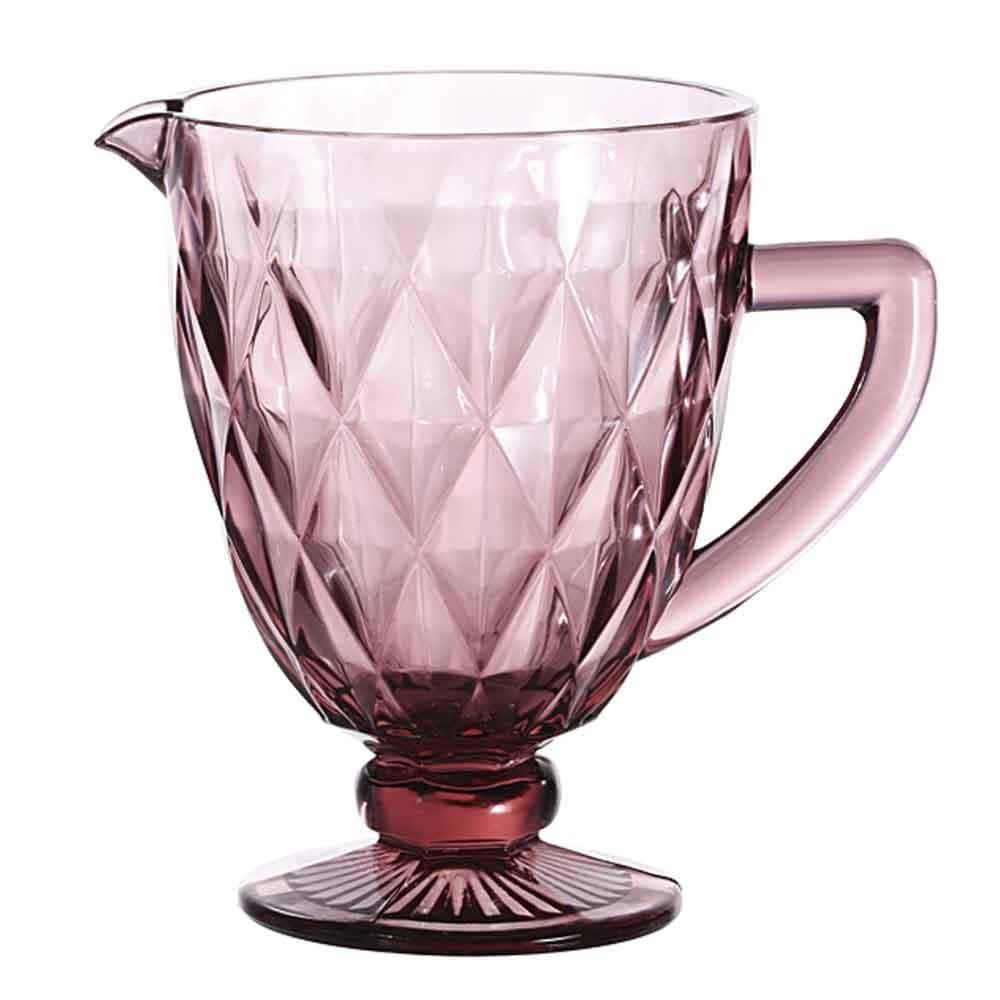 Jarra de Vidro Lilás Diamond 1,1L - Lyor