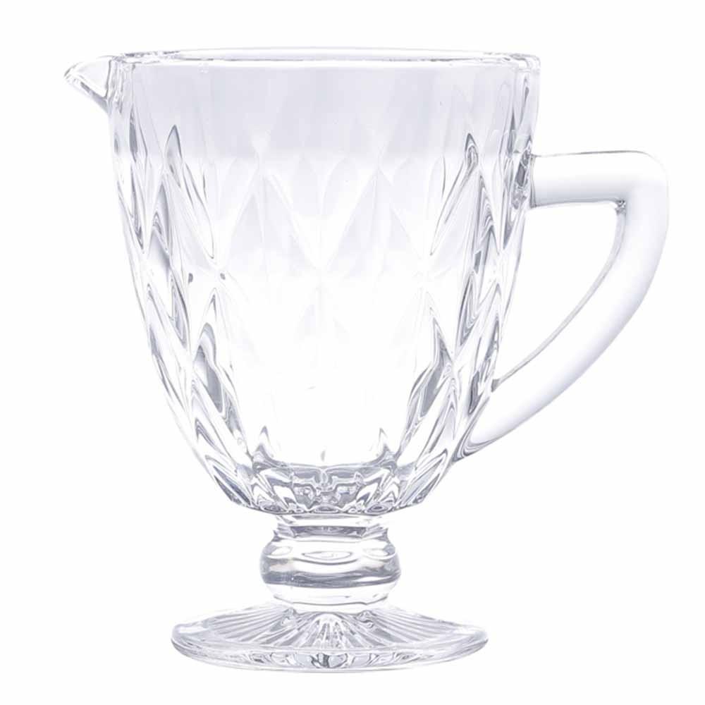 Jarra de Vidro Transparente Diamond 1,1L - Lyor