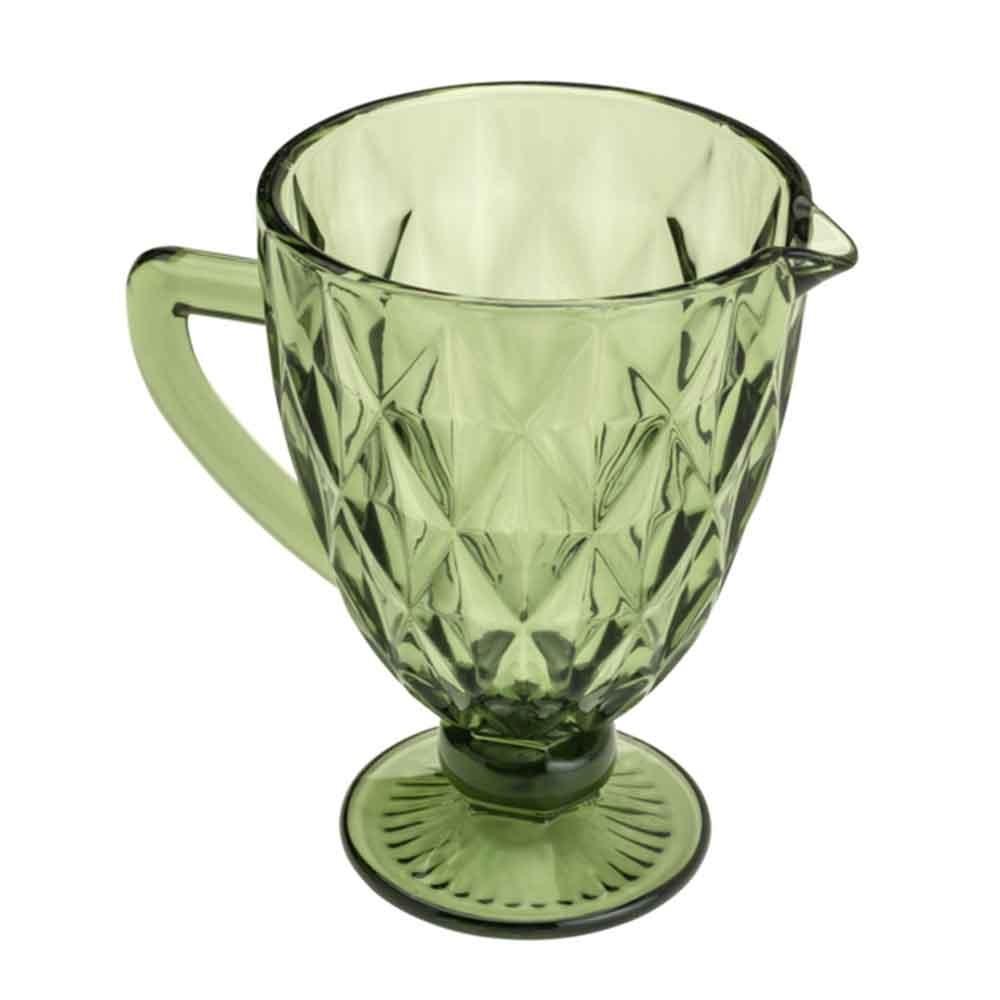 Jarra de Vidro Verde Diamond 1,1L - Lyor