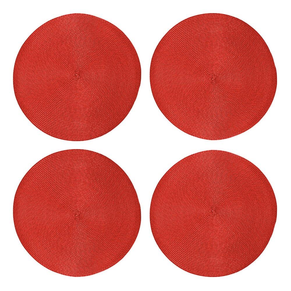Jogo Americano 4  peças Alegro Vermelho - Casambiente