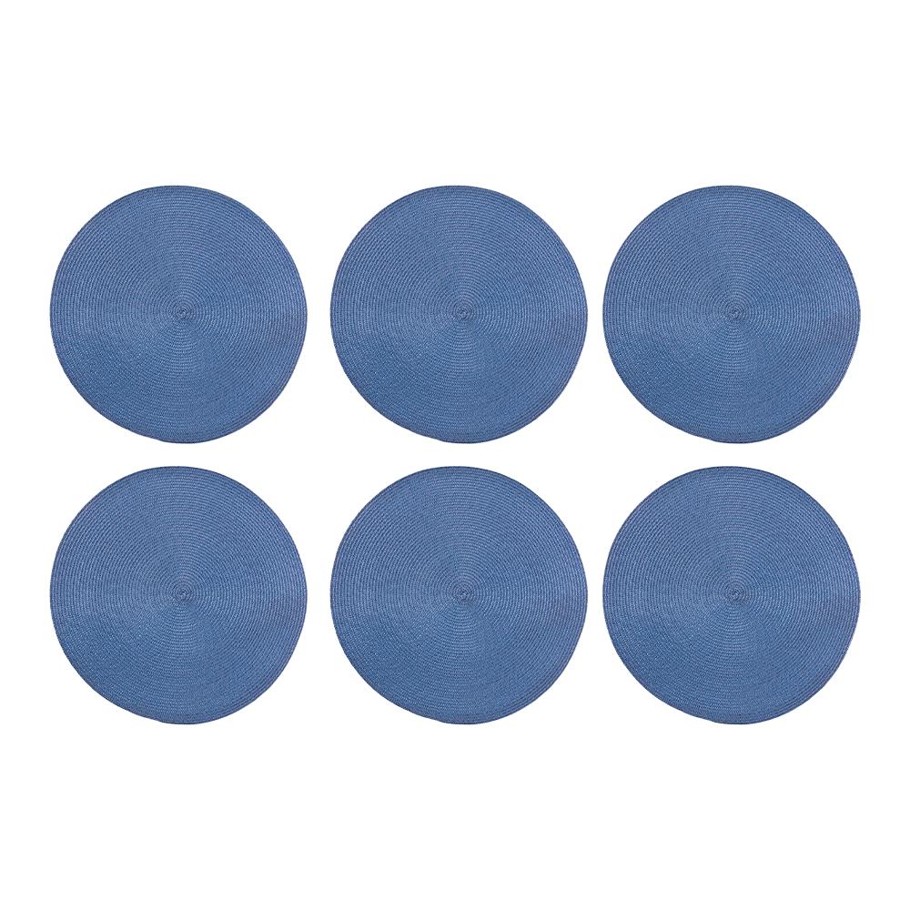 Jogo Americano 6 peças Alegro Azul - Casambiente