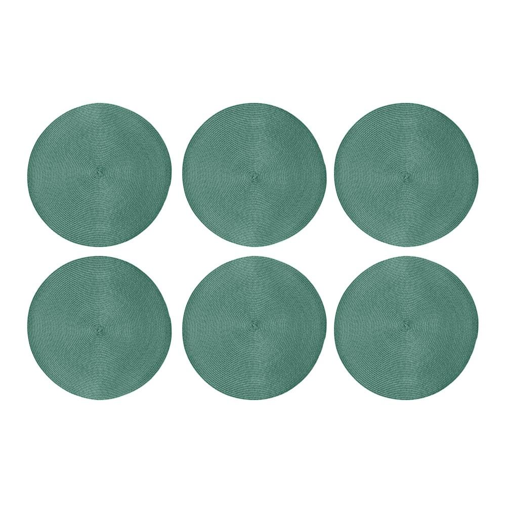 Jogo Americano 6 peças Alegro Verde - Casambiente