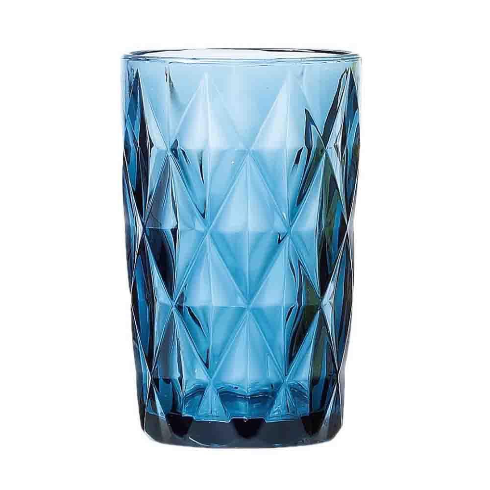 Jogo de Copos Diamond Azul 360Ml 6 Peças -COPO055
