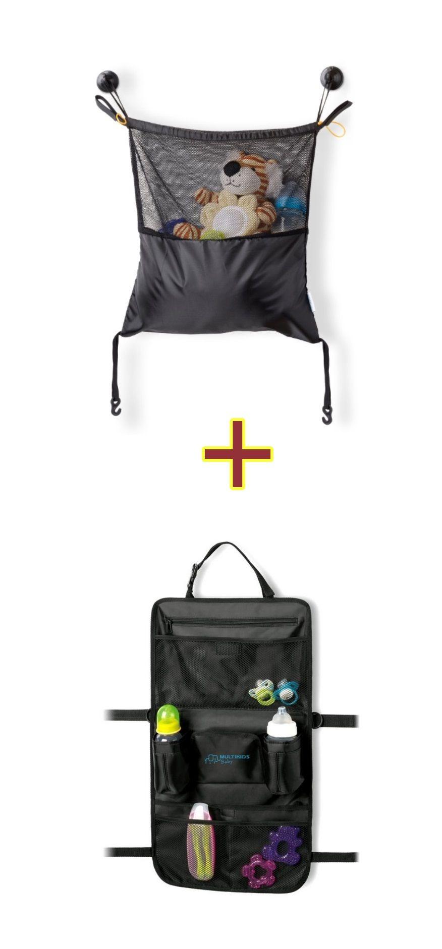 Kit Organizador para Carro e Carrinho BB179 + Organizador para Carrinho de Bebê BB186
