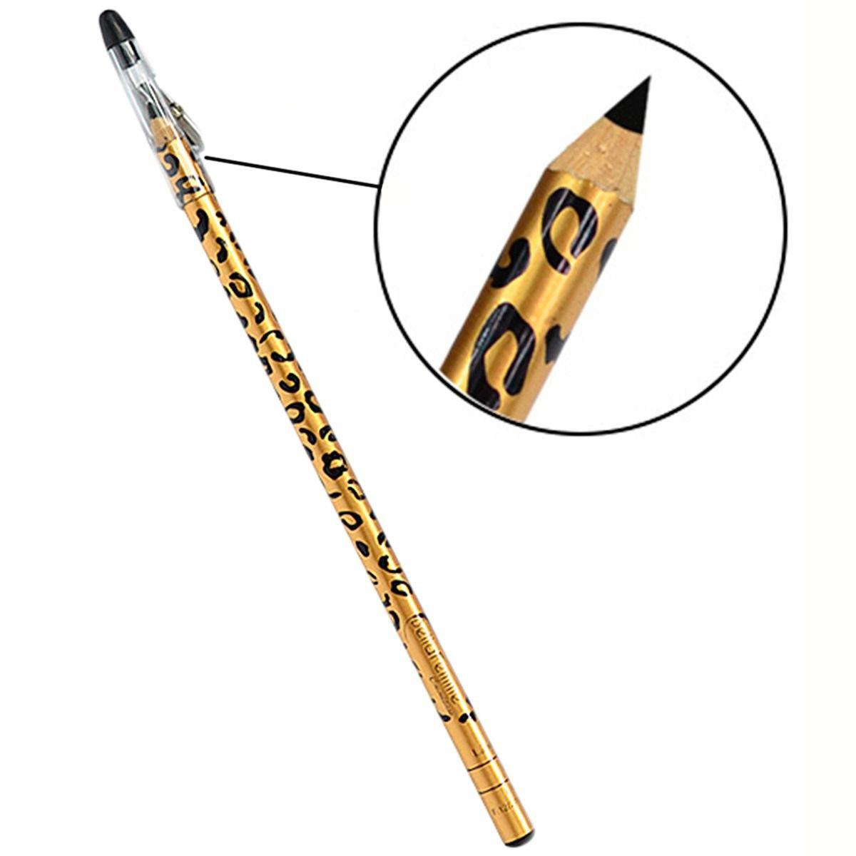 Lápis Para Olho Com Apontador - Bella Femme Onça 12 unidades