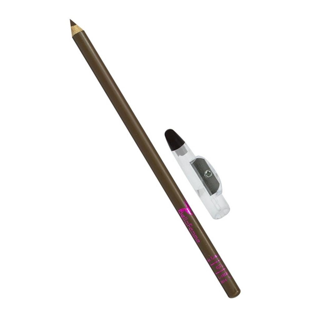 Lápis para Olhos Marrom c/ Apontador Bella Femme BF10002 12 unidades