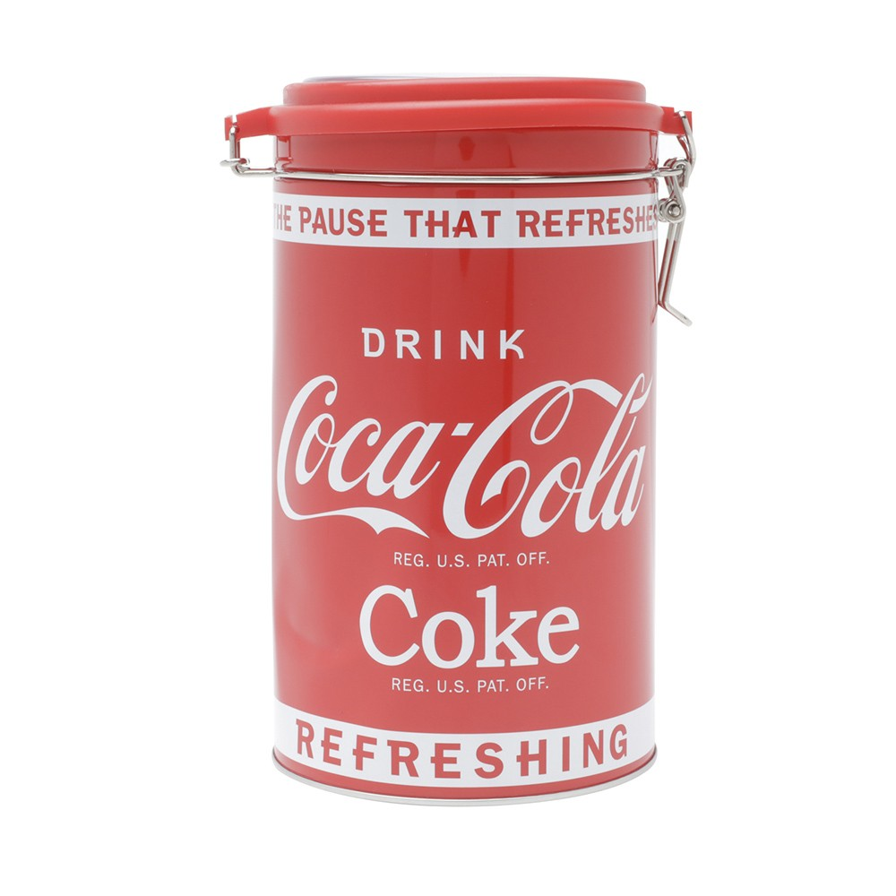 Lata Decorativa Coca-Cola Redonda 19cm