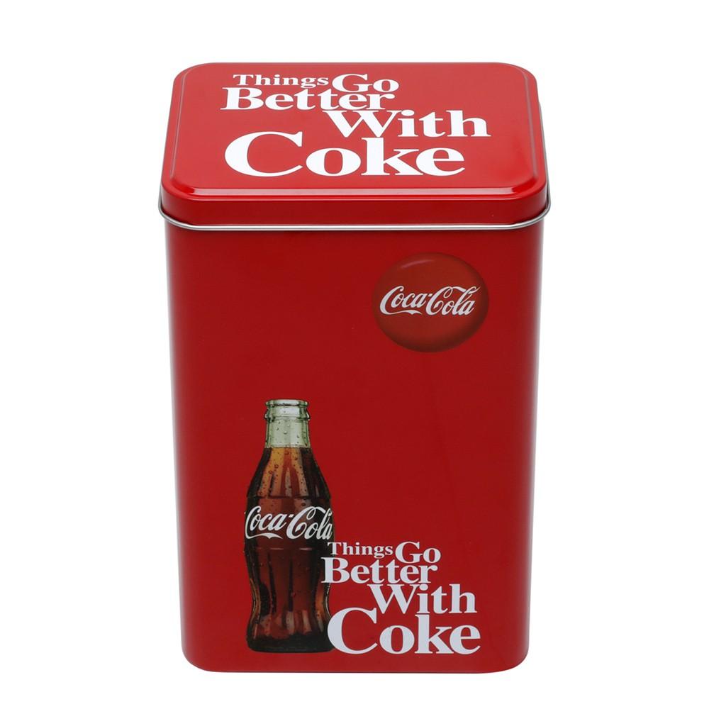 Lata decorativa Coca-Cola Retangular 13cm