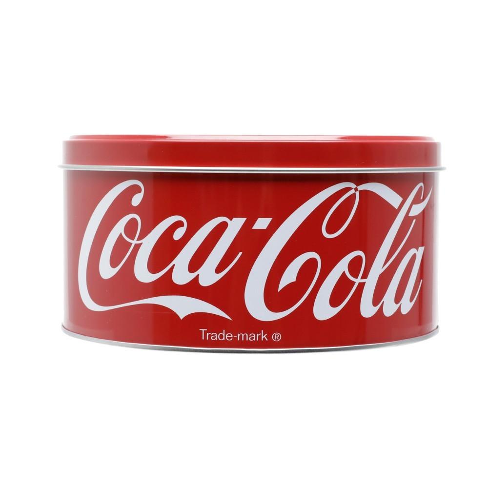 Lata decorativa em metal Coca-cola 17cm