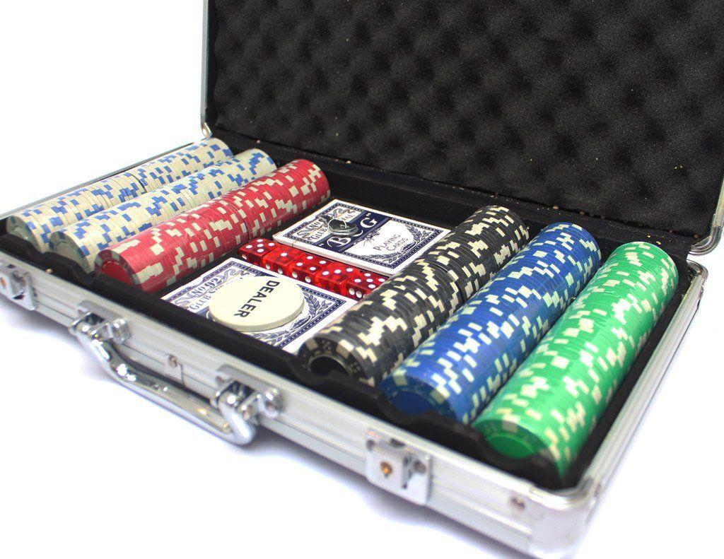 Maleta Poker Profissional 500 Fichas Numerada