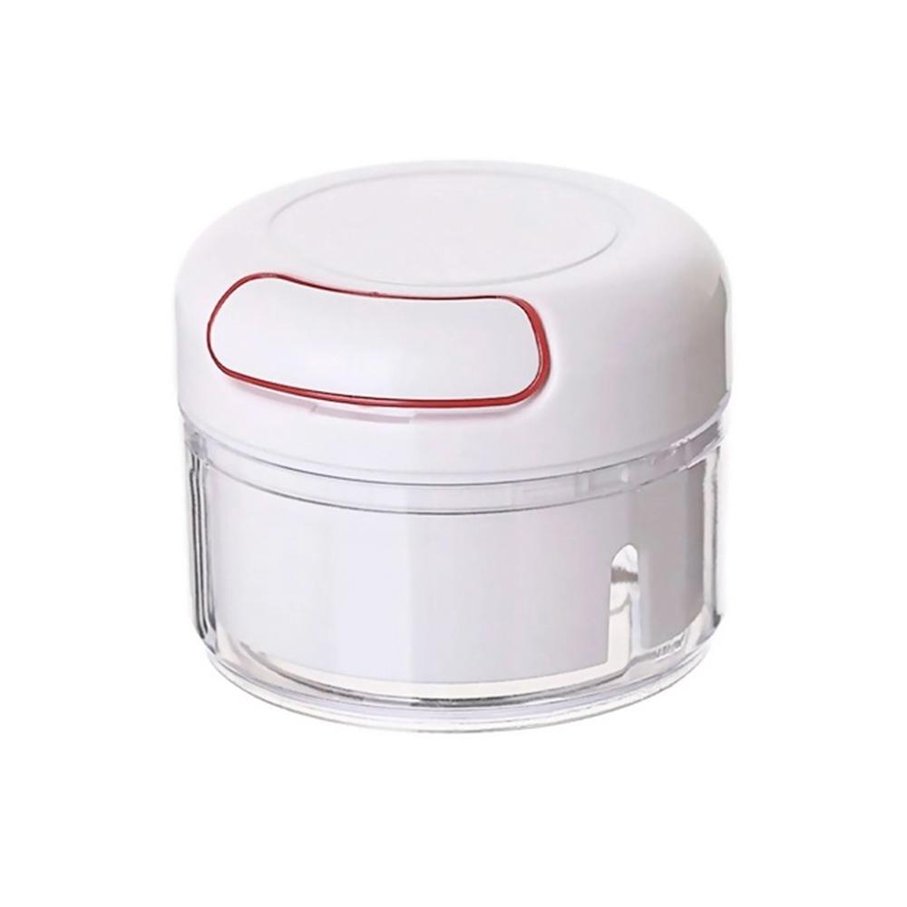 Mini Triturador e Processador de Alho Manual - Livon