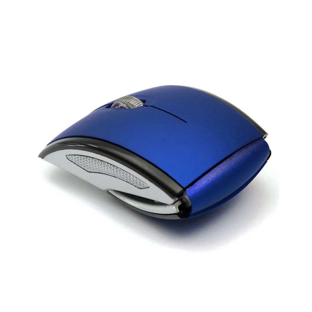 Mouse dobrável óptico sem fio 2,4GHz