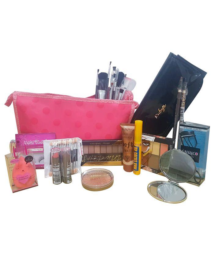 Necessaire de  Maquiagem Completo Profissional Ruby Rose Kit 2
